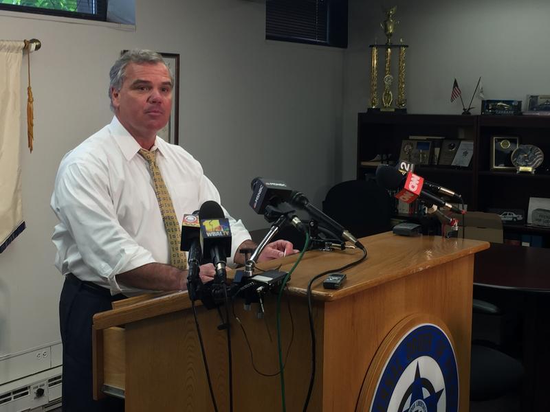 Baltimore FOP President Lt. Gene Ryan (file photo)
