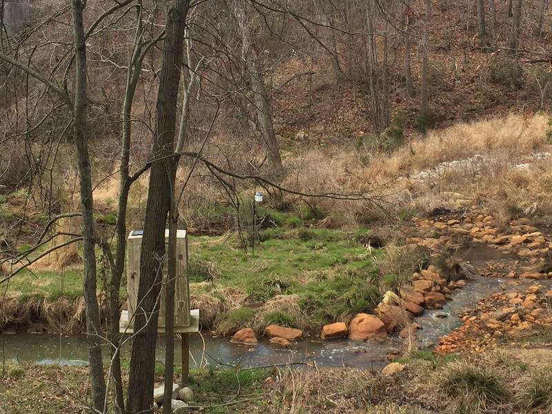 The Church Creek restoration project slows pollution laden run-off heading to the South River