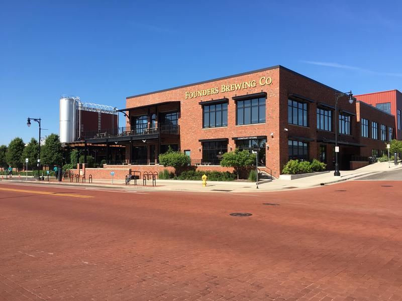 Founders Brewery in Grand Rapids, Michigan