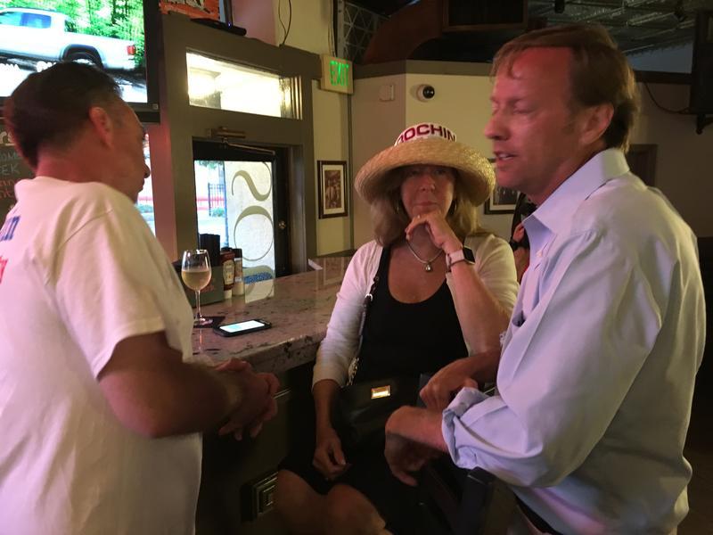 Baltimore County Executive Democratic hopeful Jim Brochin