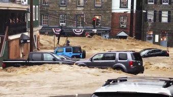 Flooding in Ellicott City