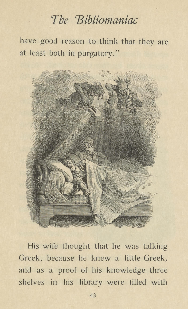 The Bibliophile's Worst Nightmare, from Charles Nodier's The Bibliomaniac