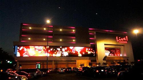 Maryland Live Casino.