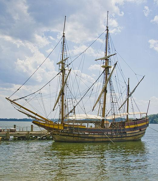 The Maryland Dove, a recreation of The Dove that sailed from England to Maryland.