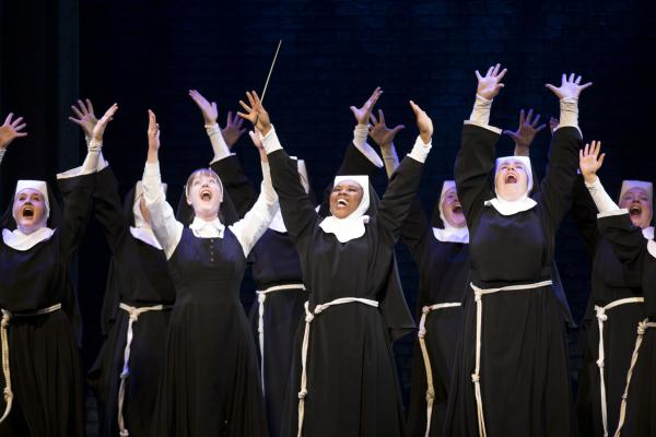 "Cast of ""Sister Act."""