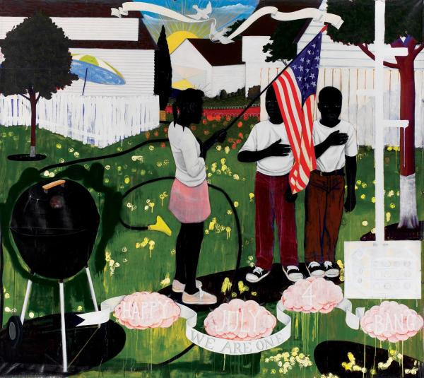 Bang by Kerry James Marshall.