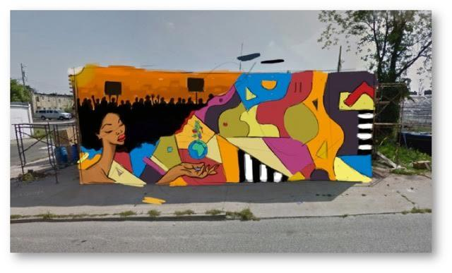 Young people work to bring murals to sandtown wypr for Baltimore mural program