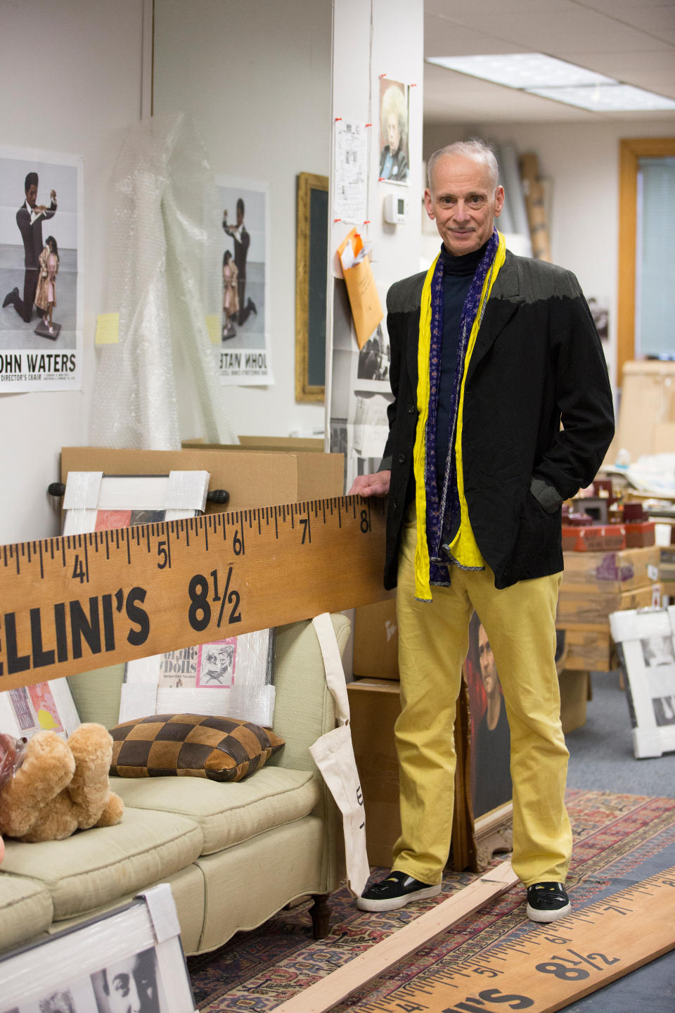 John Waters on the BMA Retrospective of His Visual Art   WYPR