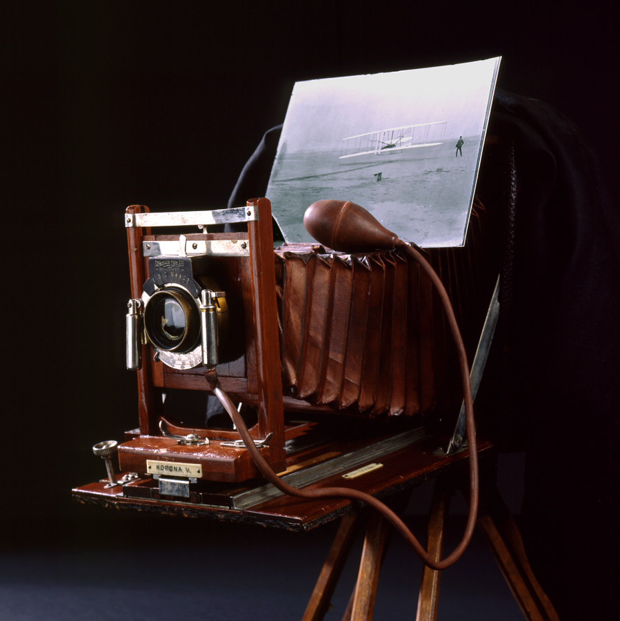 Dan Patterson's antique camera