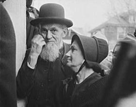 In 1942, when this photograph of an elderly Mennonite couple was shot in Pennsylvania, science and medicine were transforming the idea of old age by extending life expectancies and curing chronic disease.