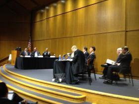 UAS Hearing witnesses.