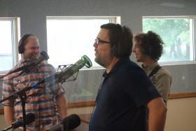 (Left to right) Daniel Dye, Kevin Milner, Tim Pritchard