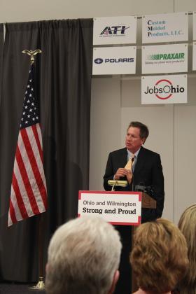 Governor John Kasich in Wilmington, Ohio