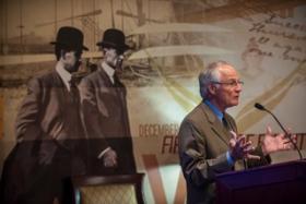 WSU President David R. Hopkins