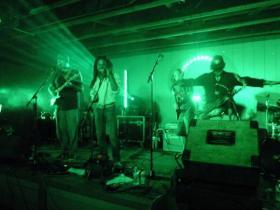 Jonny Dreads & the Mystiks onstage at Hog Jam 2013