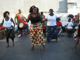 Performers at the 2010 Dayton African American Cultural Festival
