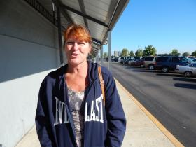 Tracie Franklin has been looking for work for months, and says stagnation and low wages have dominated the last few years.