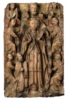 Anonymous, English, The Assumption of the Virgin, c. 1460-1490