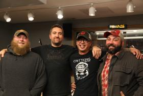 Lovely: Dave Brandenburg, Chip Heck, Vinny Arceo, and Wendell Hensley
