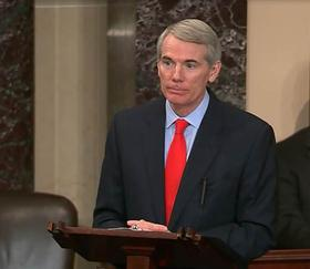 Senator Rob Portman stands closer to the center on poverty issues than many of his Republican colleagues.