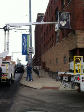 On Monday, December 2nd, the Canal Street Tavern sign was removed from the building.  The venue will now be known as the Canal Public House.
