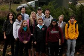 Wittenberg professor Sarah Fortner and Springfield Stormwater Coordinator Sky Schelle, are working with students to develop rain gardens in the city and on campus.