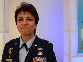 Colonel Cassie Barlow, who heads the 88th Air Base Wing, announced the base's intention to seek out cost-cutting partnerships in January, 2014.
