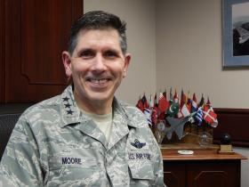 Lt. Gen. C.D. Moore is the commander of the Air Force Life Cycle Management Center at Wright-Patt.