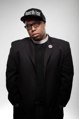 Rev. Lennox Yearwood leads the Hip Hop Caucus which is coming to Central State later this week.