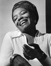 Maya Angelou in 1969