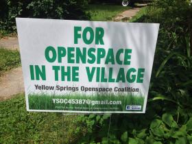 "Plans for solar panels and a livestock farm on the ""Golf Course"" led Yellow Springs residents to found a group defending open space in the village."