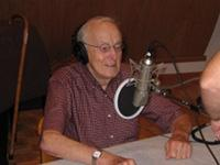 Bill Hooper being interviewed in 2010