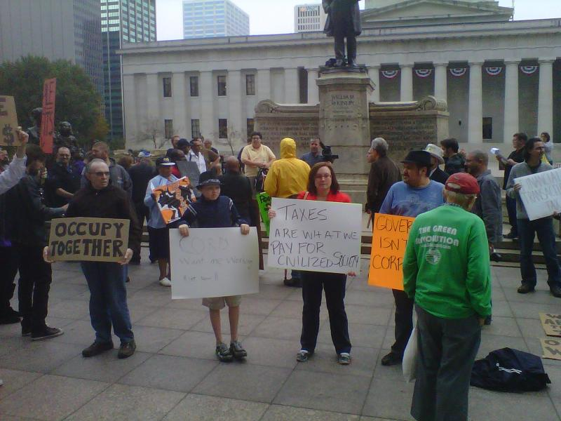 Protesters Gather Monday At Ohio Statehouse