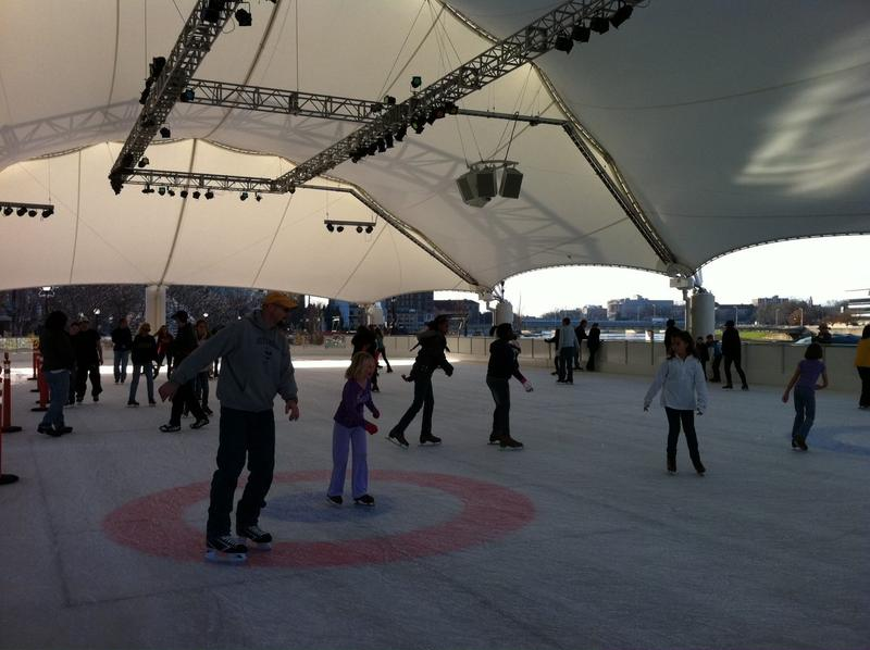 The Ice Rink at Riverscape Metropark