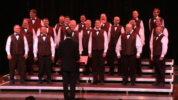 The Dayton Gay Men's Chorus performing in 2009