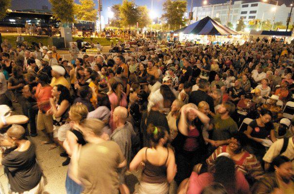 Cityfolk Festival attendees
