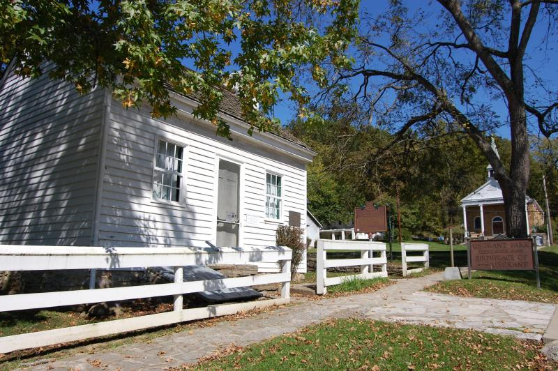 The birthplace of Ulysses S. Grant