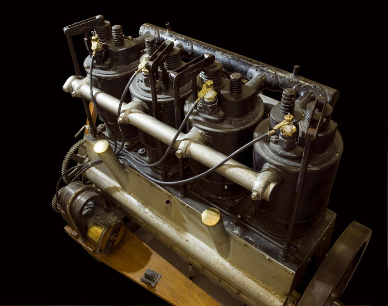 The very engine, built in Dayton that Wilbur used to flyon 8 August, 1908