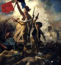 Detail from the painting Liberty Leading the People, by Eugène Delacroix, commemorating the French Revolution of 1830. The Socialist Party regained power in this year's elections.