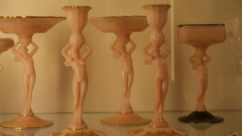 Pieces made by the Camrbidge Glass Company in the 1920s