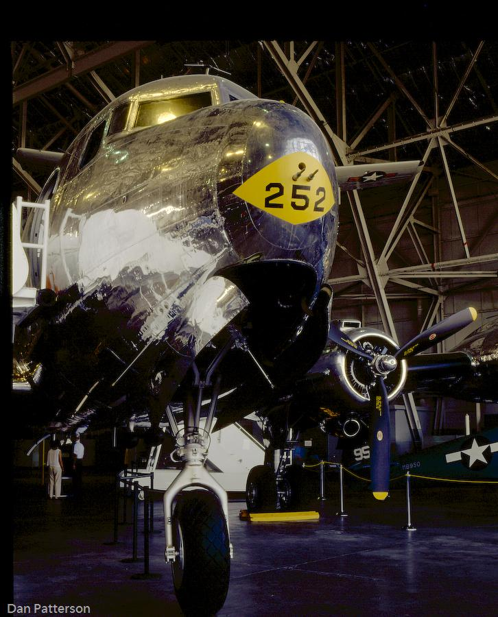 C-54 Sacred Cow on display at the National Museum of the USAF