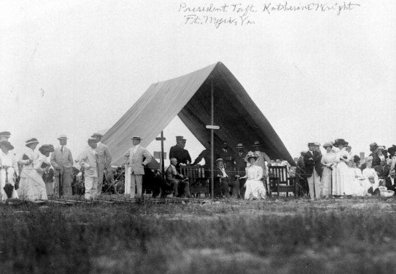 Katharine and President Taft