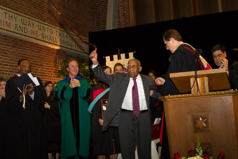 McClain is one of the most accomplished alumni in Wittenberg's 167-year history after a career in the field of law that spanned more than six decades.