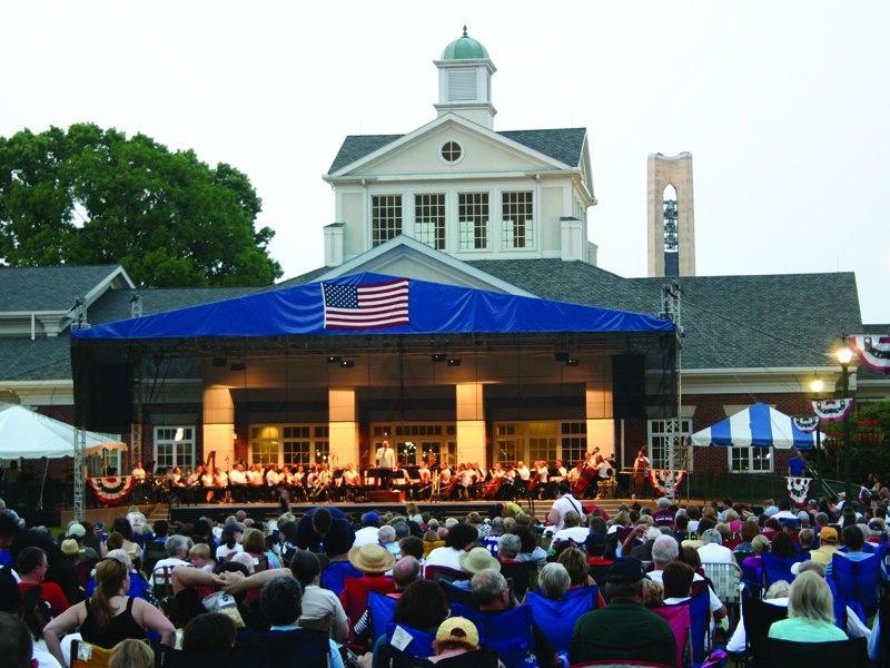 The 2012 Dayton Heritage Festival at Carillon Park
