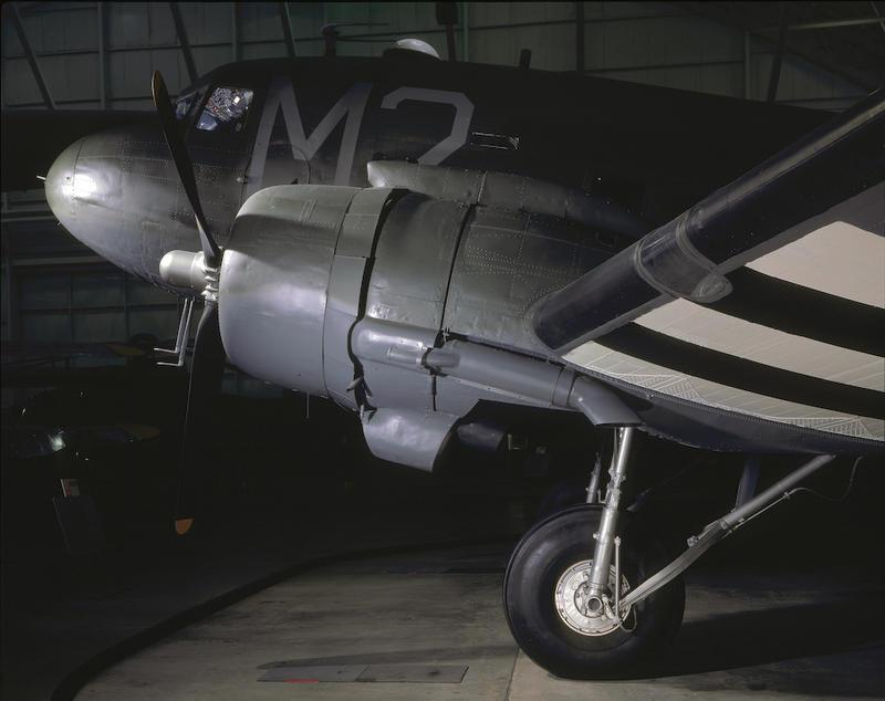 C47 transport aircraft