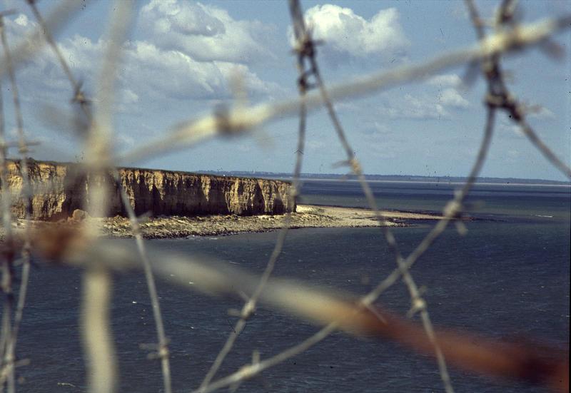 The Normandy coast