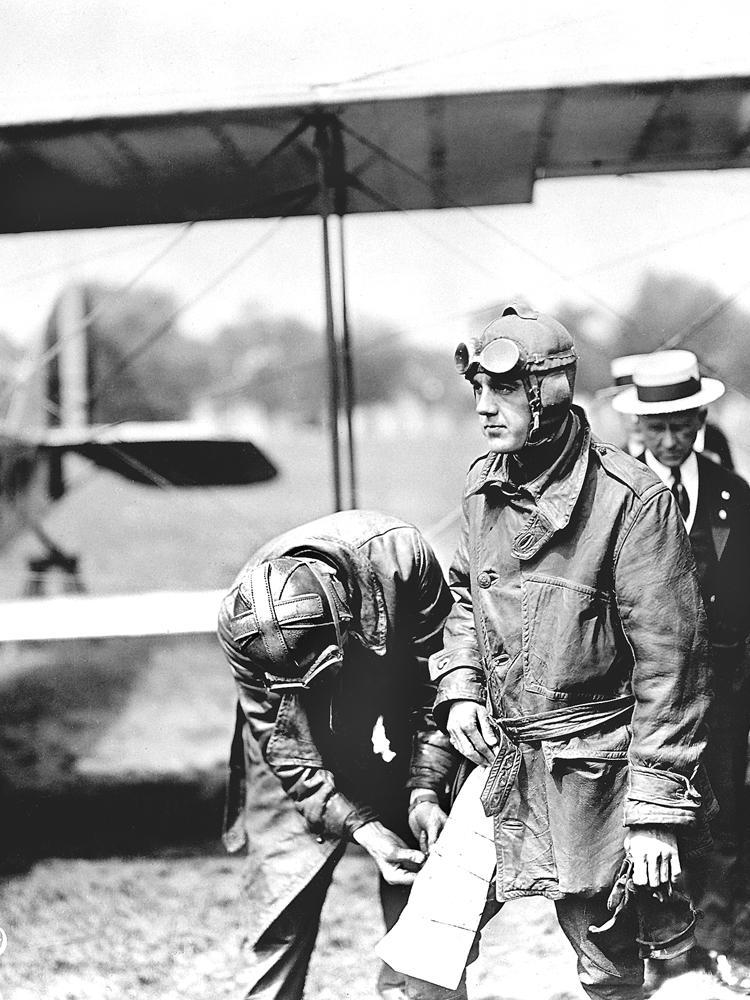 Early American Army aviator.