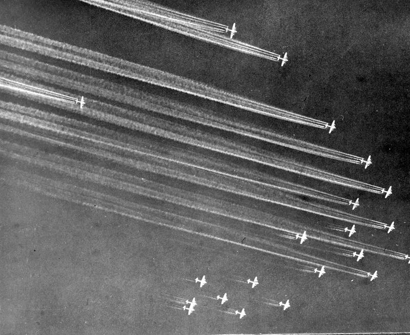 A B-17 bomber team in 1943