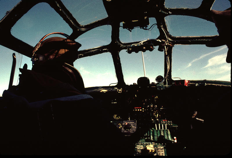 The B-24's flight deck