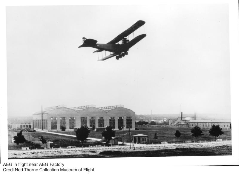 Archival image of the German bomber